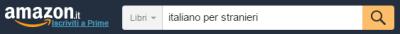 amazon italiano per stranieri