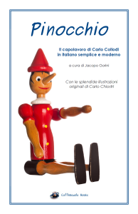 Copertina Pinocchio no audio no glossario