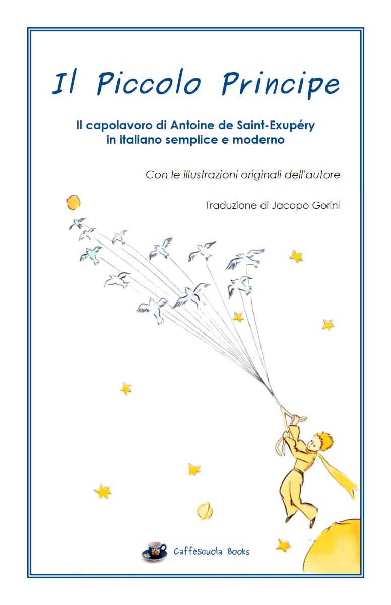 Copertina Il Piccolo Principe – Il libro | CaffèScuola
